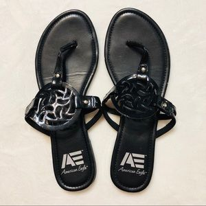 American Eagle Black Sandals